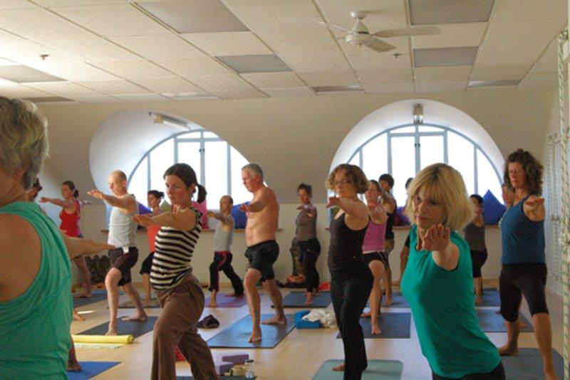 Hatha Yoga Poses Practice II