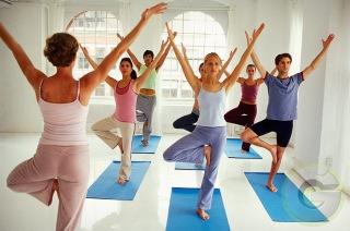 Hatha Yoga Poses Practice V